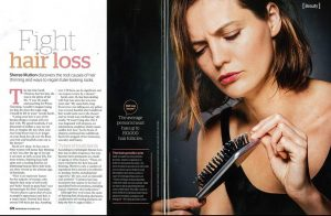 Trichology interview Australan Womans Weekly Nov : Dec 2016